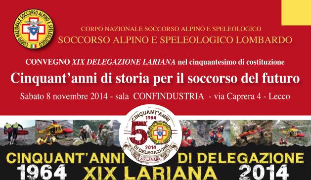 Delegazione Lariana 50 anni