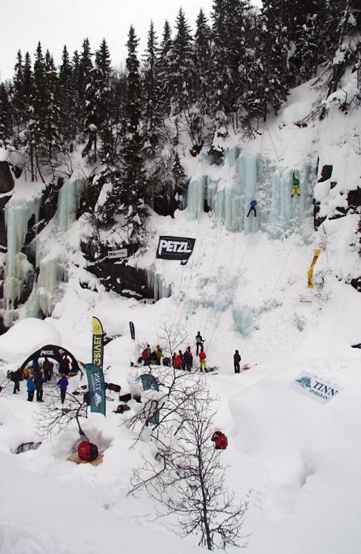 Festival ghiaccio in Norvegia