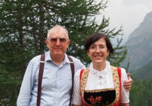 Antonio e Roberta Beck Peccoz