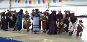 Danzatori in costume