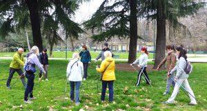 Nordic walking al Parco SempioneJPG