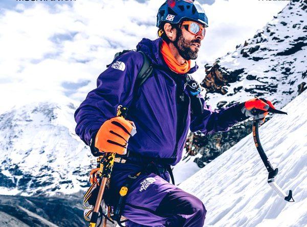 Barmasse e il nuovo sistema per l'alpinismo